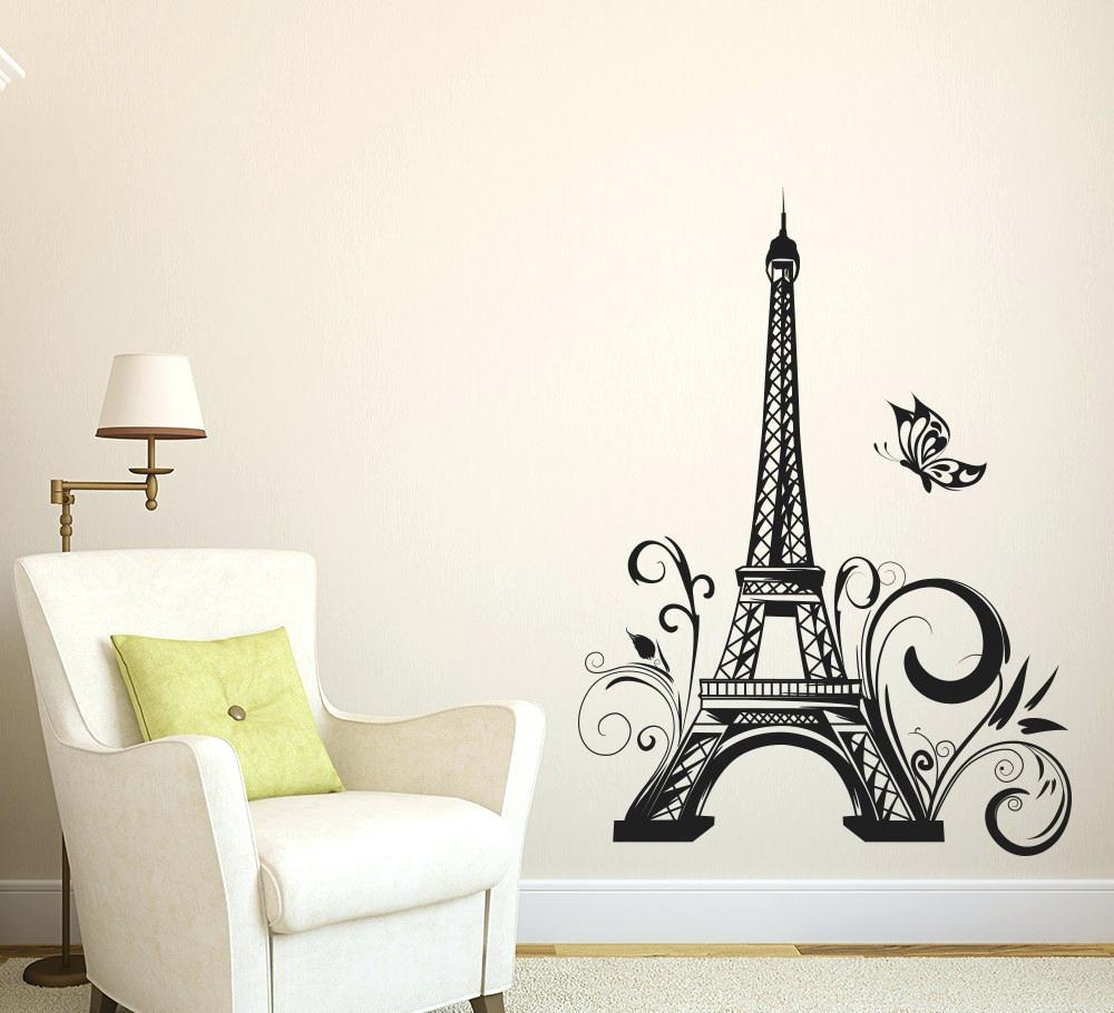 Wall Ideas : Eiffel Tower Wall Decor Target Eiffel Tower Wall With Regard To Paris Themed Wall Art (Photo 12 of 20)