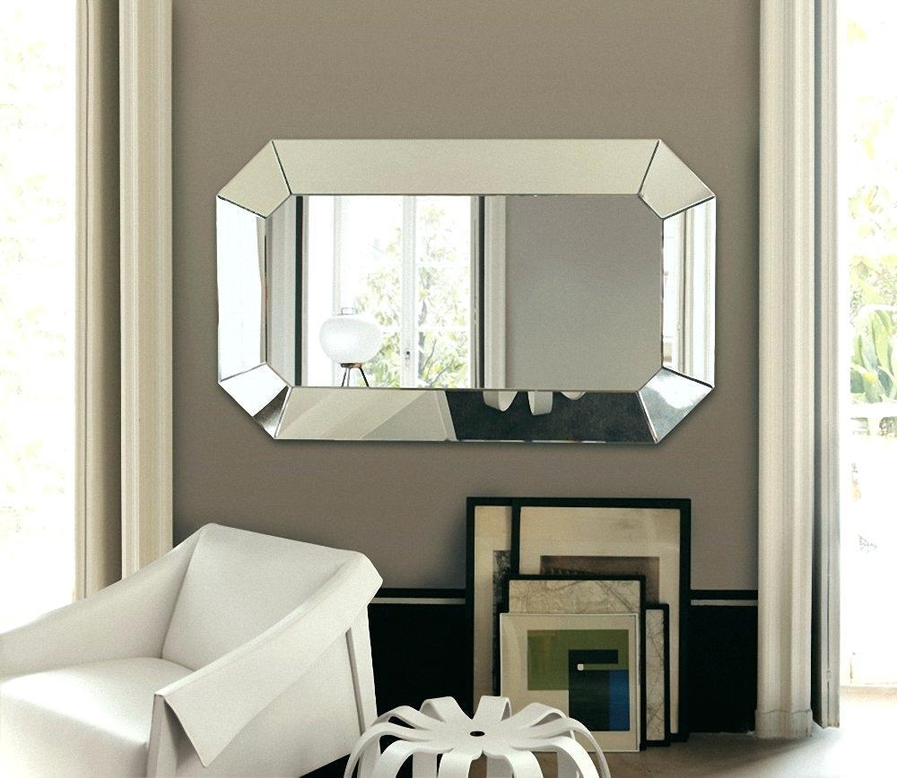 Wall Ideas : Full Size Of Bathroommodern Vanity Mirror Bedroom In Mirrors Modern Wall Art (Image 16 of 20)