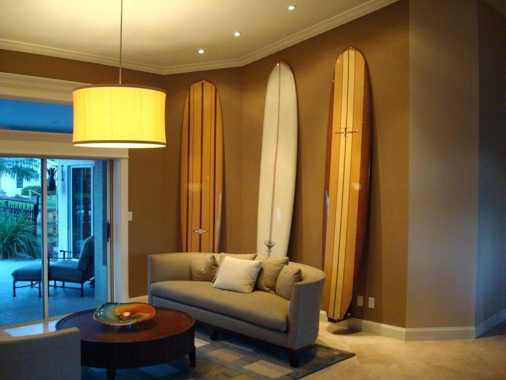 Wall Ideas : Image Of Surfboard Wall Decor For Bedroom Surfboard Intended For Decorative Surfboard Wall Art (Image 16 of 20)