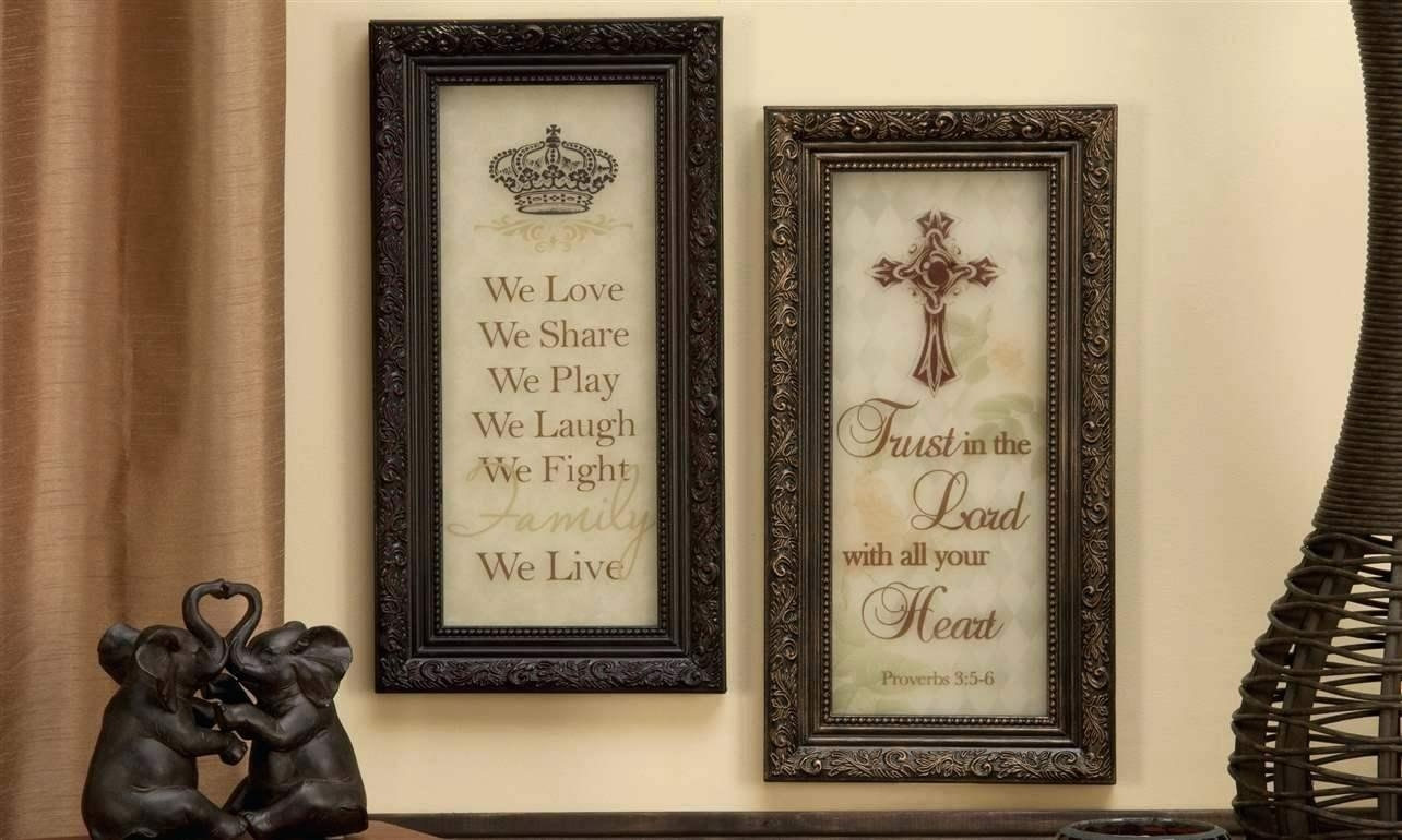 Wall Ideas : Inspirational Wall Plaque Inspirational Stencil Wall Intended For Inspirational Wall Plaques (View 2 of 20)