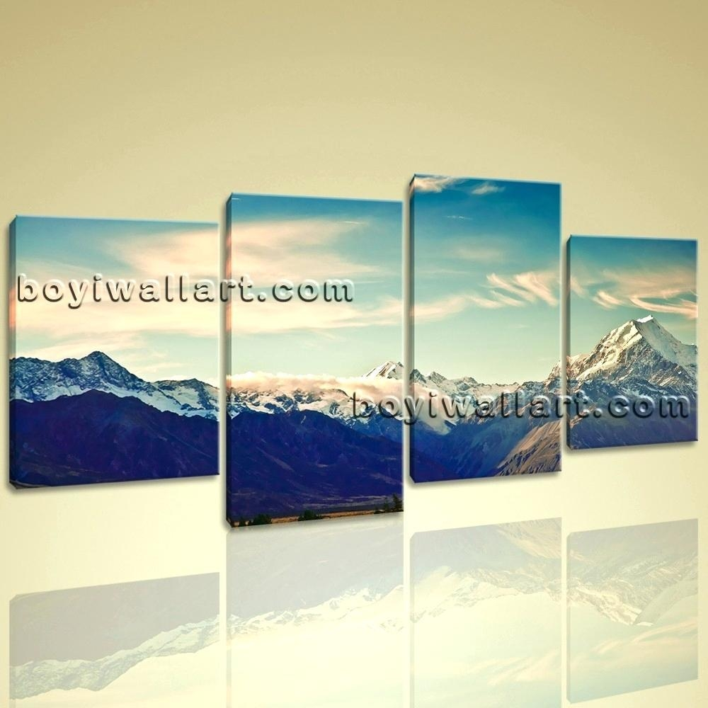 Wall Ideas : Landscape Wall Art Amazon 3 Piece Canvas Wall Art With Regard To Multiple Panel Wall Art (View 20 of 20)