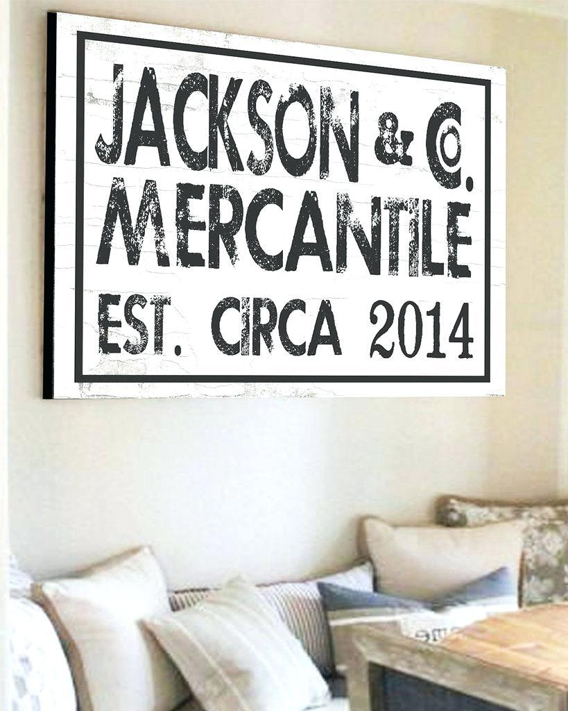 Wall Ideas : Last Name Wall Art Gifts Family Name Metal Wall Art With Regard To Personalized Last Name Wall Art (View 16 of 20)