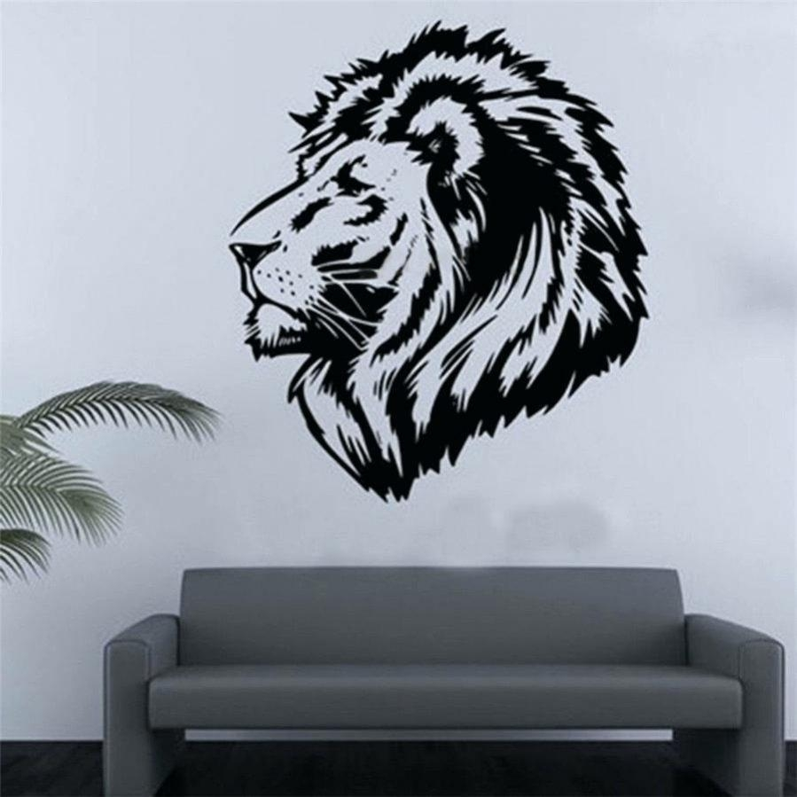 Wall Ideas : Lion Wall Decor Lion Wall Art Decor Animal Nursery For Lion Wall Art (View 13 of 20)