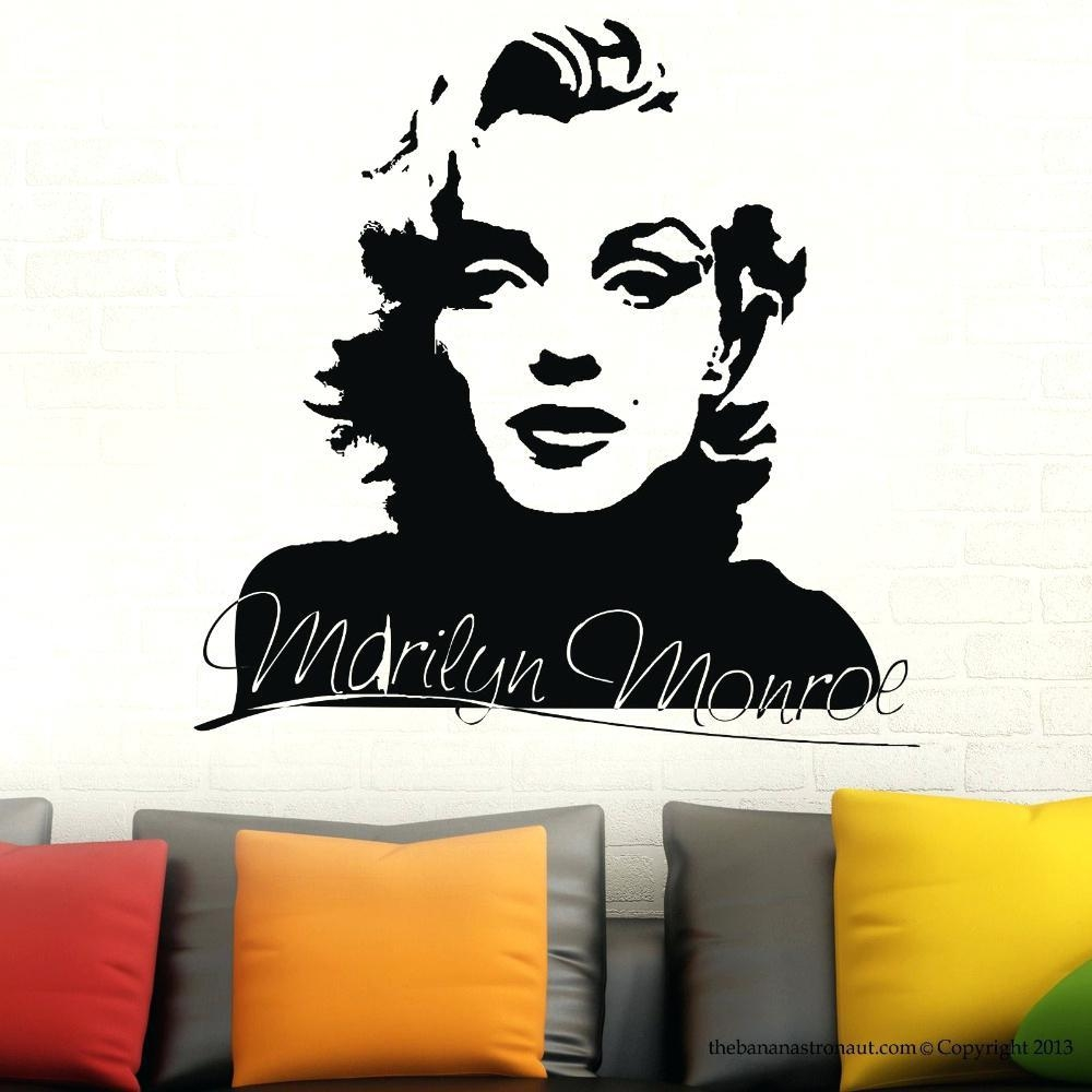 Wall Ideas : Marilyn Monroe Wall Art Marilyn Monroe Wall Art Within Walmart Framed Art (Image 19 of 20)