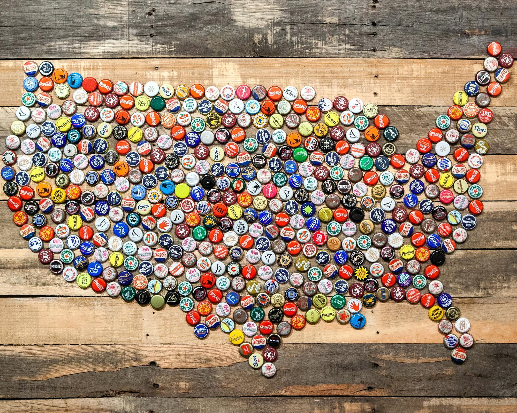 Wall Ideas : Metal United States Map Wall Art Wooden Usa Map Wall In United States Map Wall Art (Image 21 of 21)