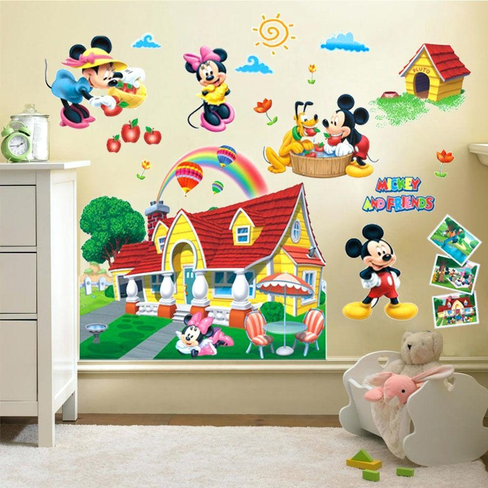 Wall Ideas : Mickey Mouse Clubhouse Canvas Wall Art Mickey Mouse Throughout Disney Canvas Wall Art (View 17 of 20)
