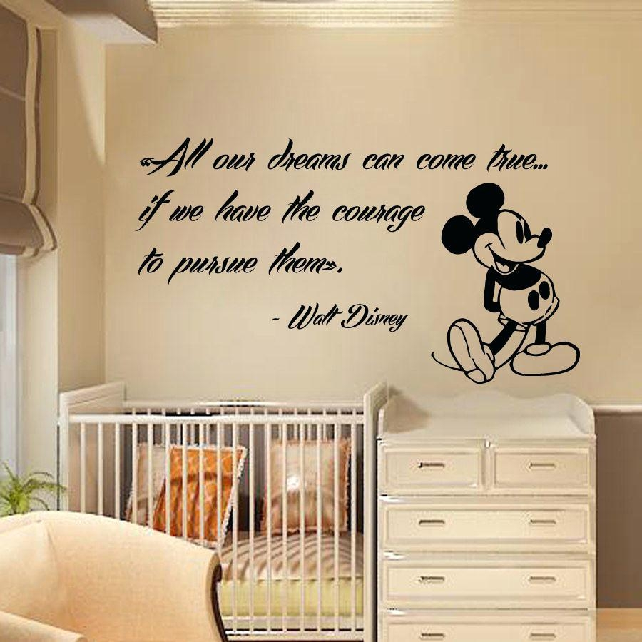 Wall Stickers Baby Girl Nursery