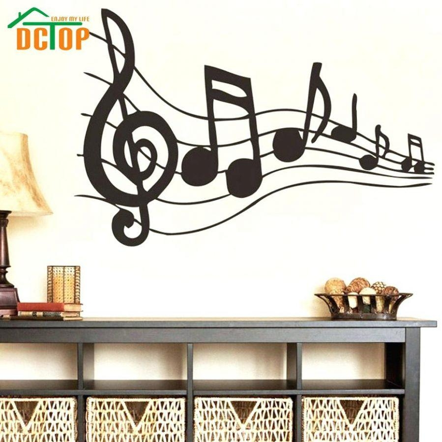 Wall Ideas : Music Note Wall Art Wooden Music Note Wall Art Dctop Regarding Music Note Wall Art Decor (Image 17 of 20)