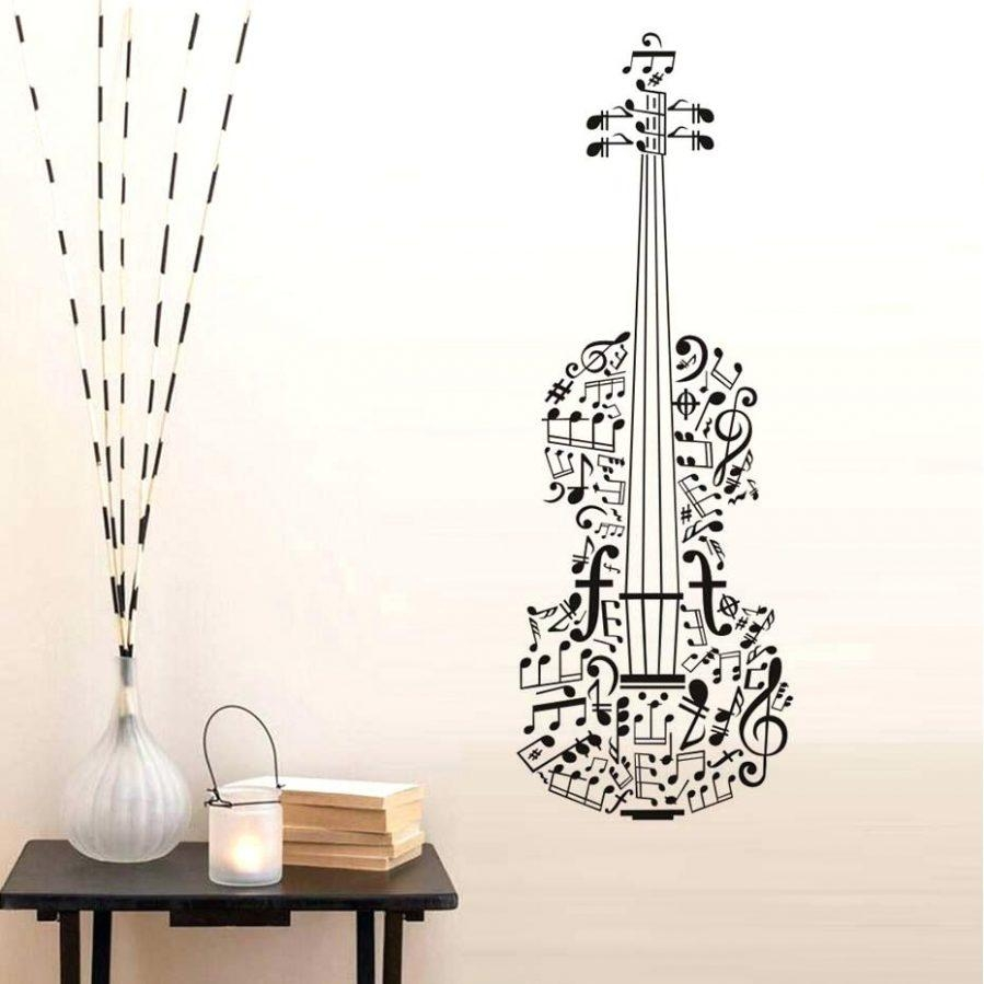 Wall Ideas : Music Note Wood Wall Art Music Note Wall Art Music Pertaining To Music Note Wall Art (Image 19 of 20)