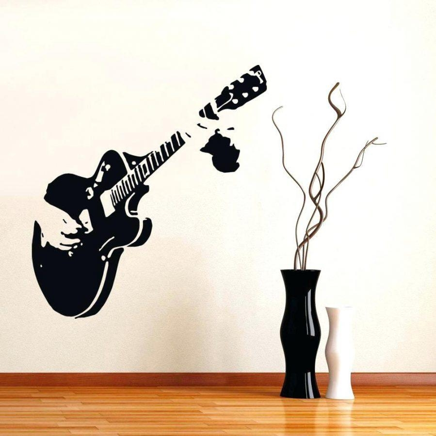 Wall Ideas : Music Notes Vinyl Wall Decal Art Music Notes Wall Art Within Music Note Wall Art (View 9 of 20)