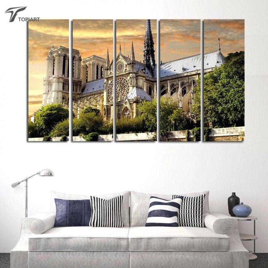 Wall Ideas : Paris In The Snow Canvas Print Vintage Paris Canvas For Large Framed Wall Art (View 16 of 20)