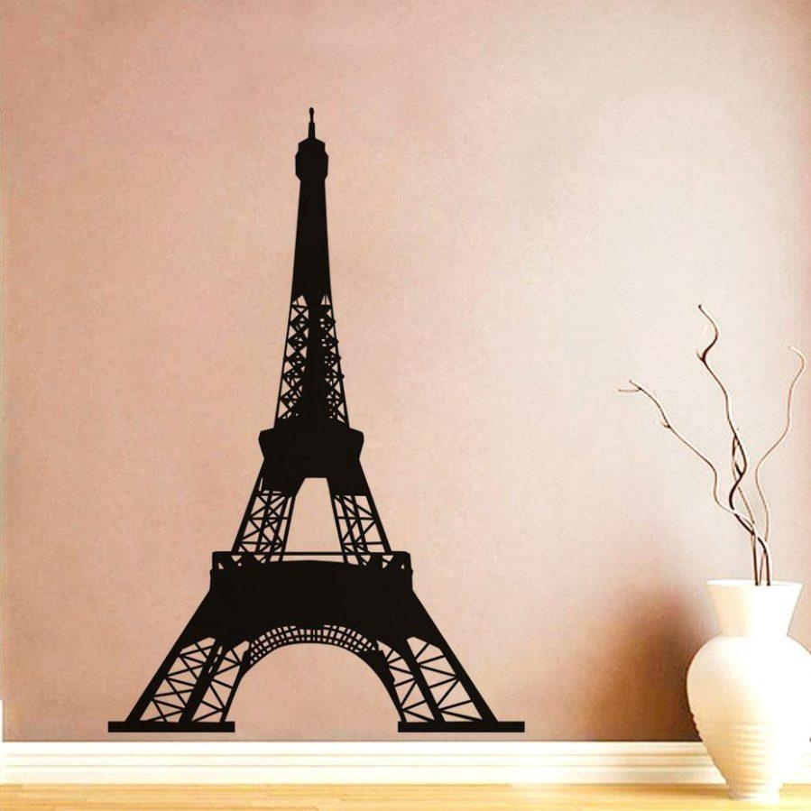Wall Ideas : Paris Is Always A Good Idea Quotes Wall Sticker With Metal Eiffel Tower Wall Art (View 8 of 20)