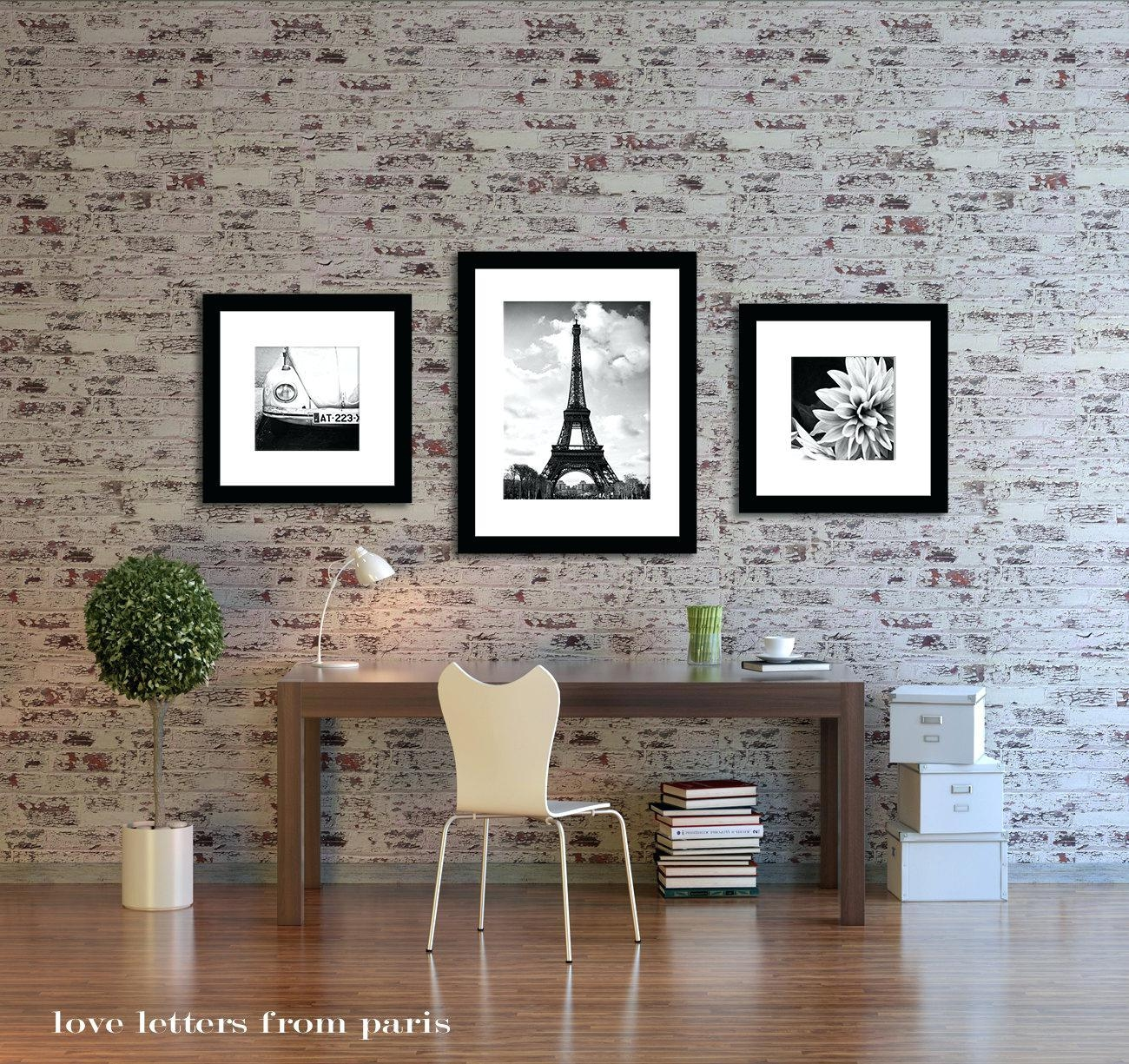 Wall Ideas: Paris Wall Decor (View 4 of 20)