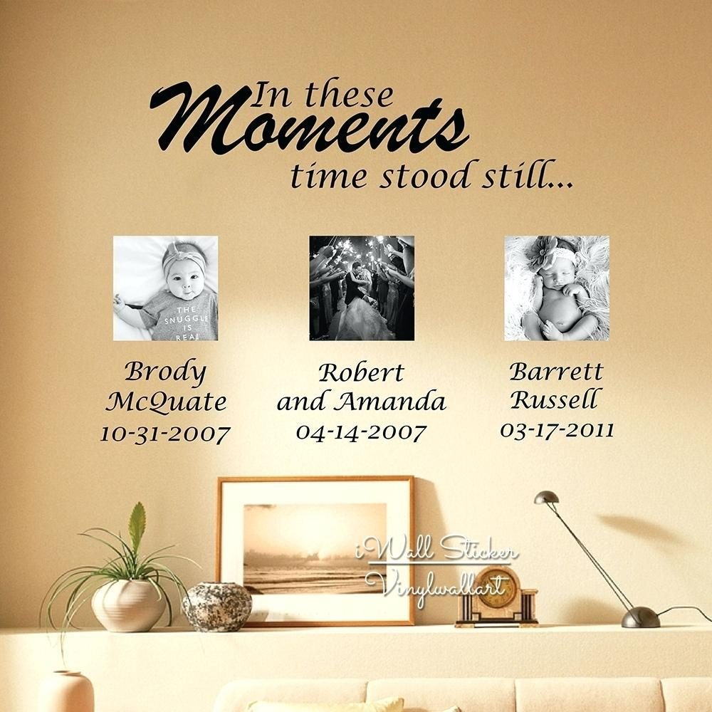 Wall Art Ideas: Personalized Family Wall Art (Explore #20 of 20 Photos)