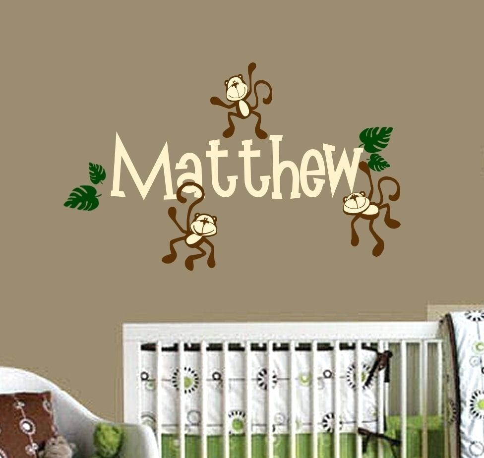 Wall Ideas : Personalized Name Wall Art For Nursery Within Personalized Wall Art With Names (Image 20 of 20)