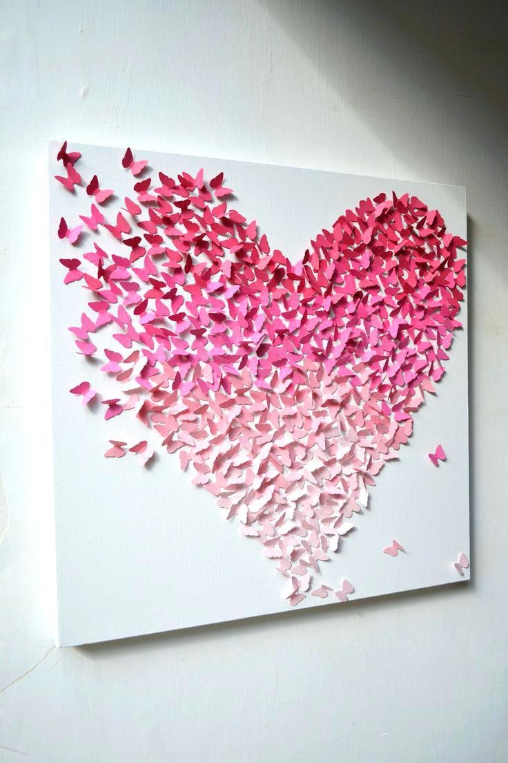 Wall Ideas: Pink Wall Art. Pink Wall Art For Nursery (Image 20 of 20)