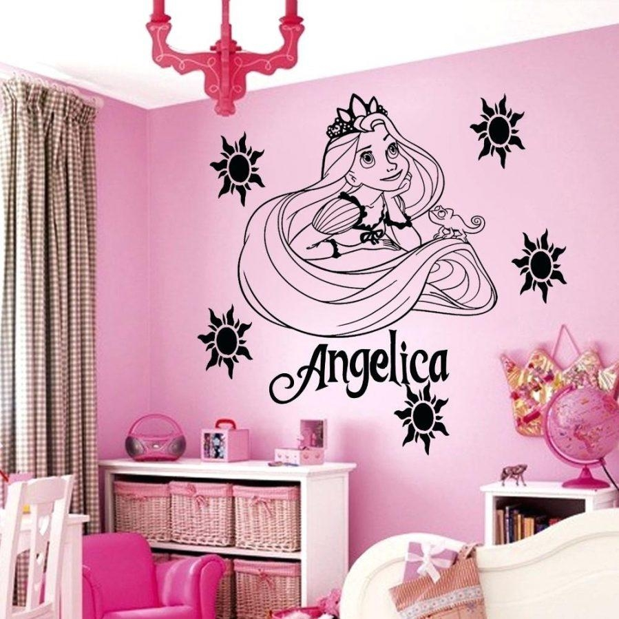 Wall Ideas : Princess Party Wall Decorations Disney Princess Wall Regarding Wall Art For Girls (Image 20 of 20)