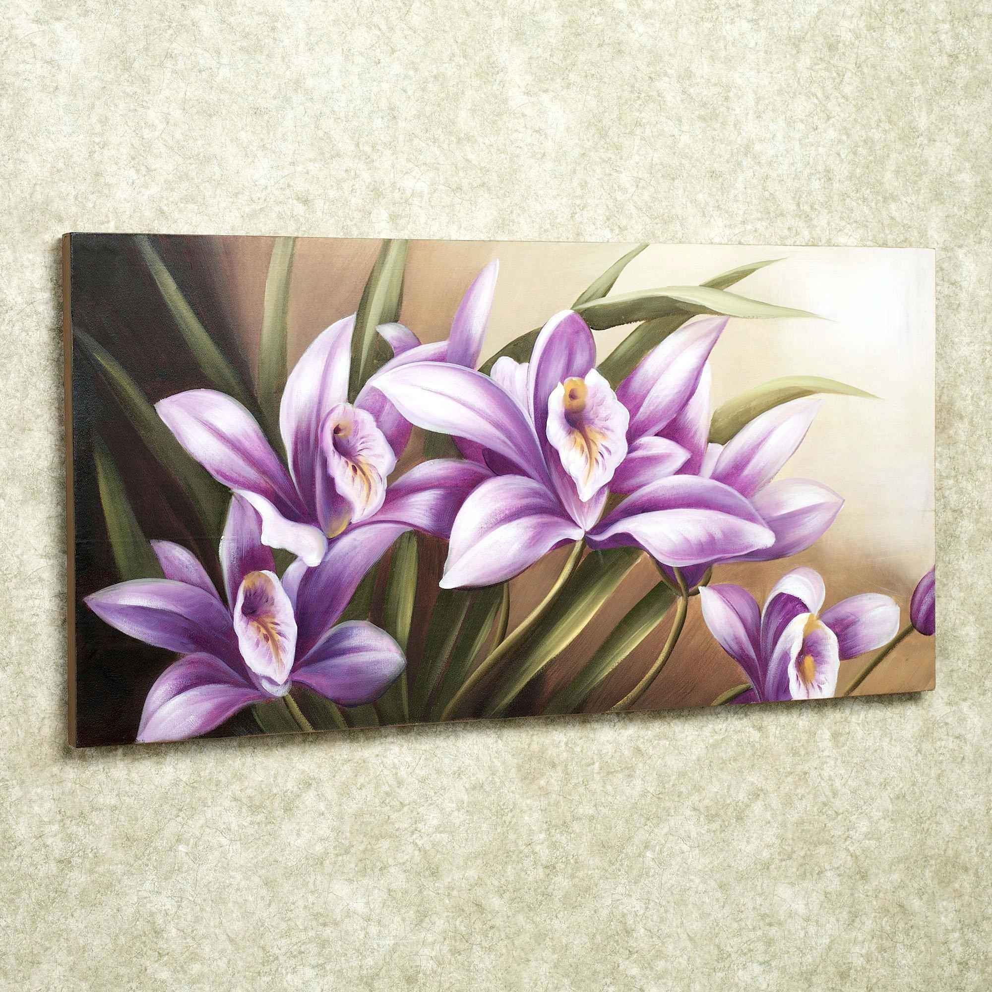 Wall Ideas : Purple Canvas Wall Art Canada Purple Butterfly Canvas For Floral Wall Art Canvas (View 7 of 20)
