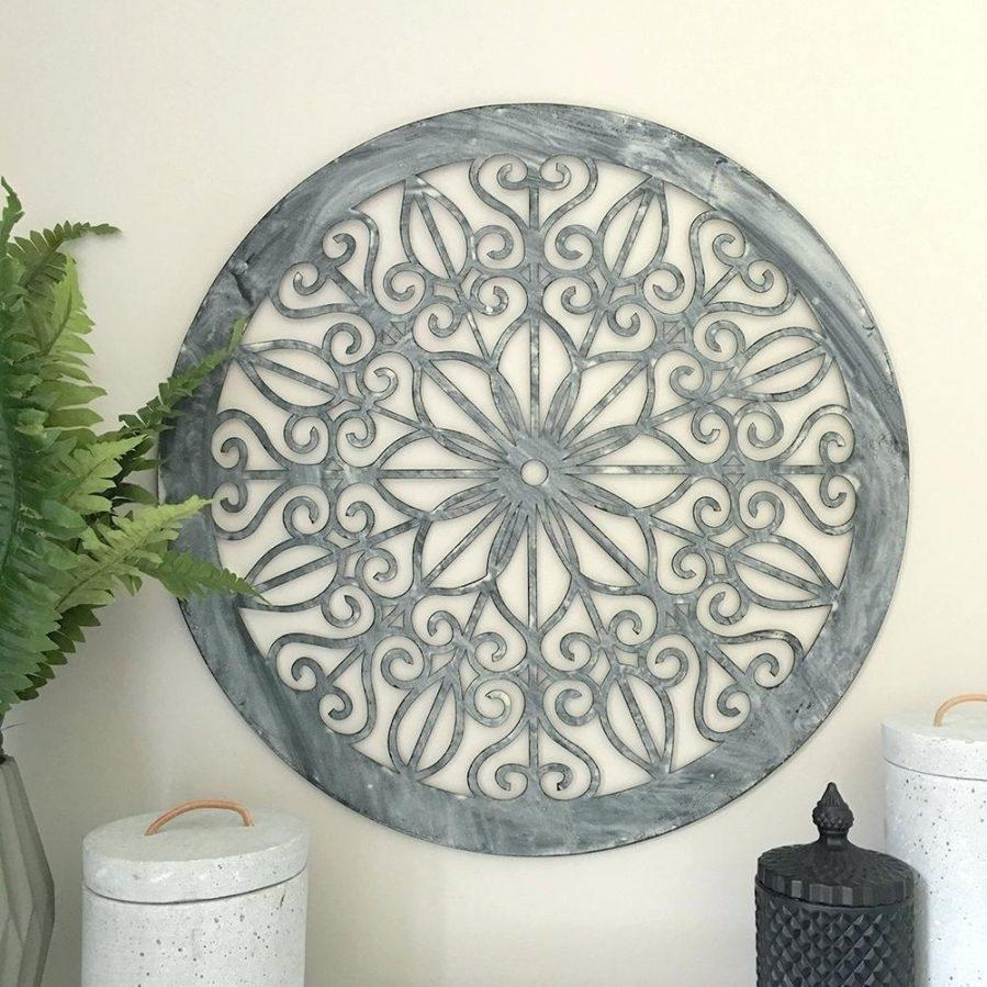Wall Ideas : Round Outdoor Metal Wall Art Round Mirror Wall Decor With Regard To Large Round Wall Art (View 12 of 20)