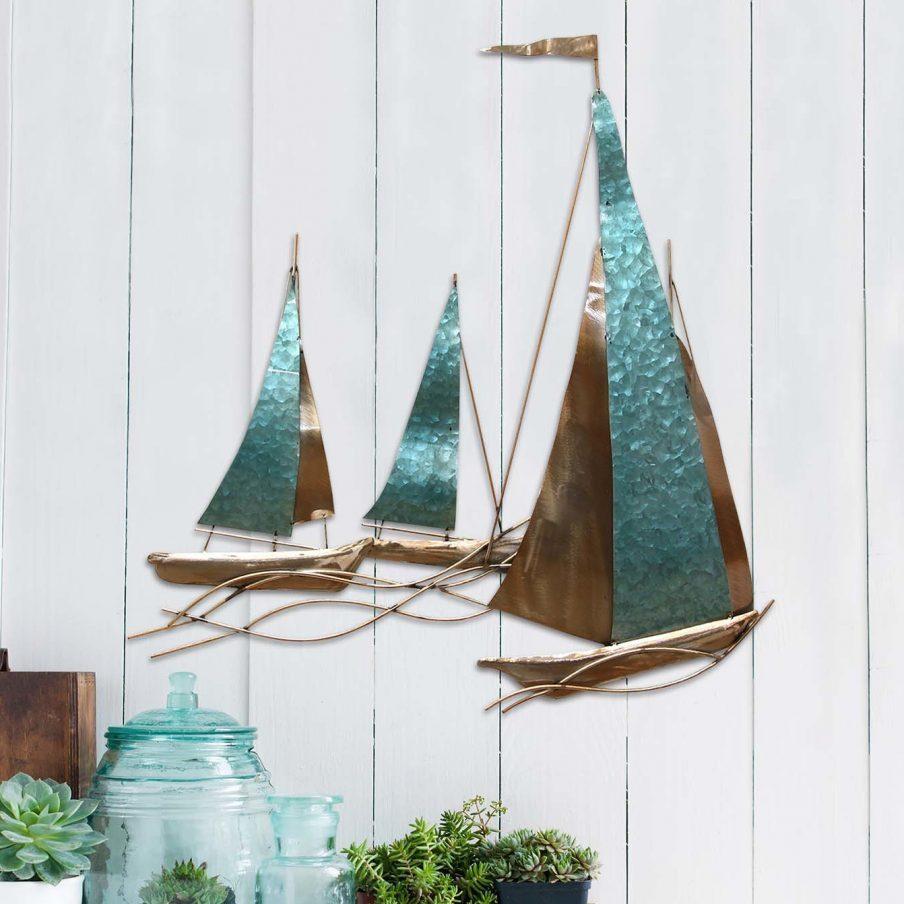 Wall Ideas: Sailboat Wall Decor Inspirations (Image 19 of 20)
