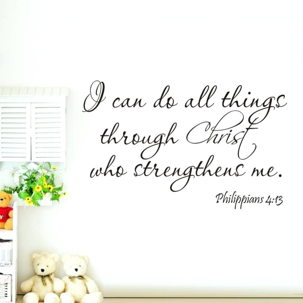 Wall Ideas: Scripture Wall Art (View 7 of 20)