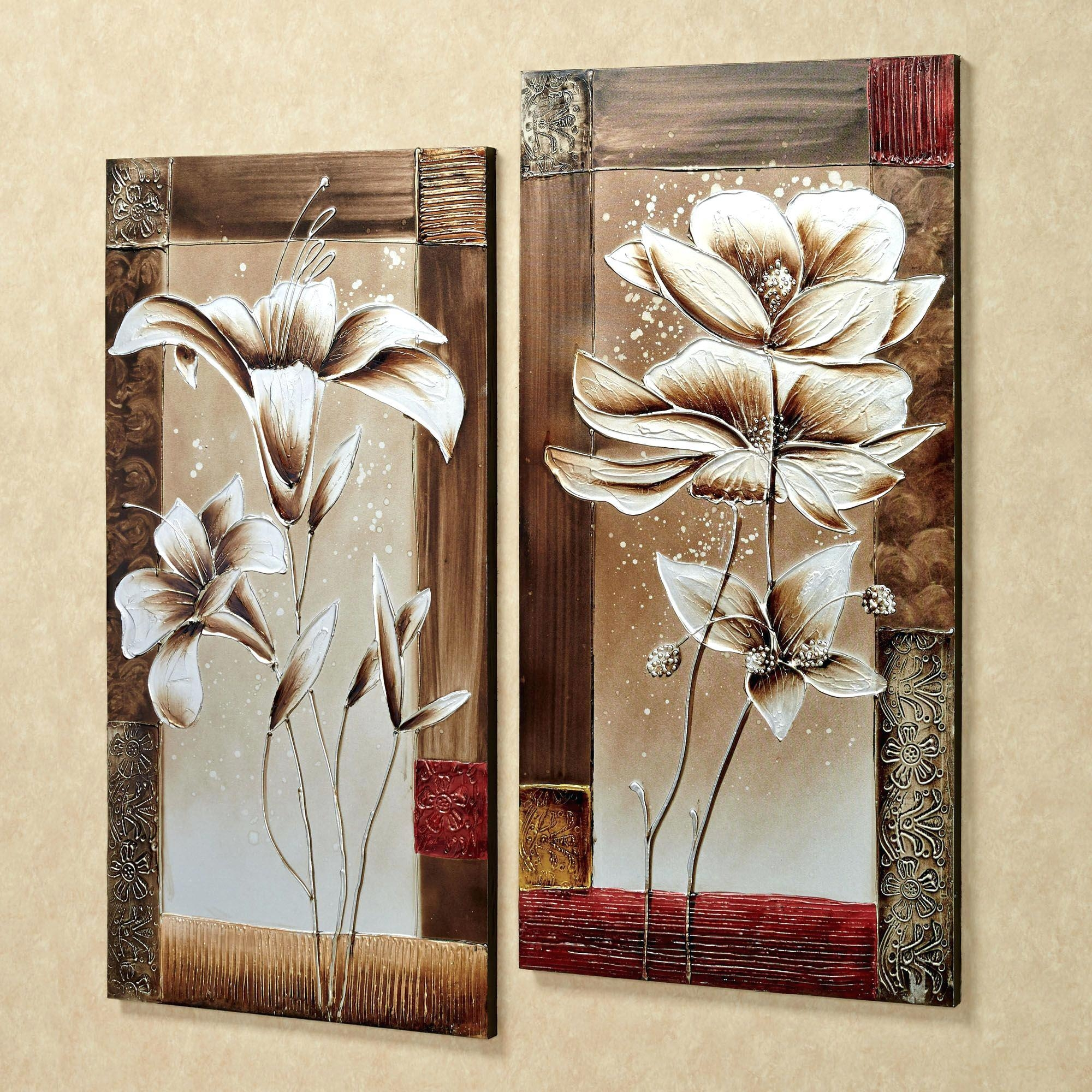 Wall Ideas : See Larger Image Magnolia Tree Wall Art Magnolia Wall Regarding 3D Metal Wall Art (Image 19 of 20)