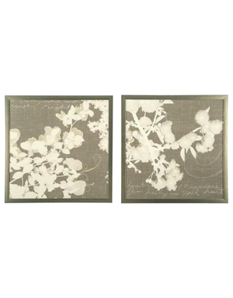 Wall Ideas : Set Of Two Metal Wall Art Bueno Abstract Oversized In Cream Metal Wall Art (View 5 of 20)