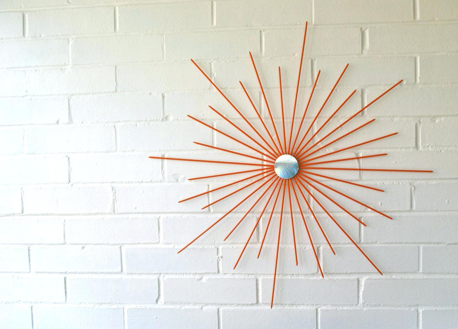 Wall Ideas : Starburst Wall Art Sculpture Diy Starburst Wall Art Intended For Jeweled Metal Wall Art (View 10 of 20)