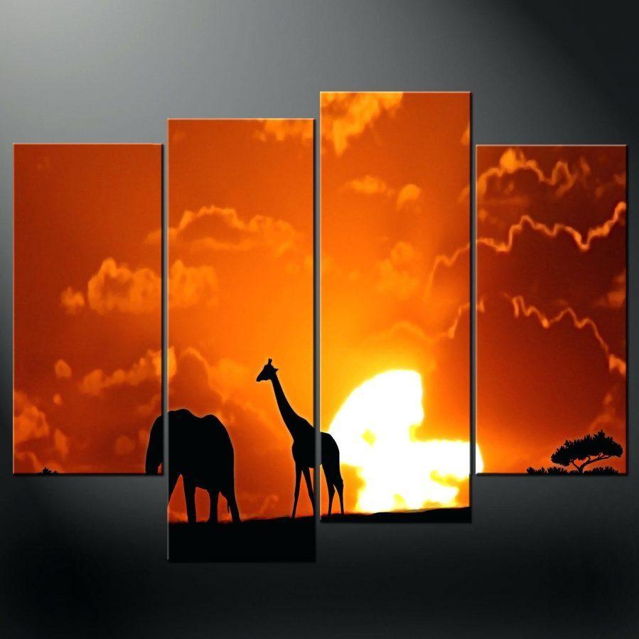 Wall Ideas : Sunset Beach Canvas Wall Art Sunset Beach Framed Wall Regarding Split Wall Art (Image 20 of 20)