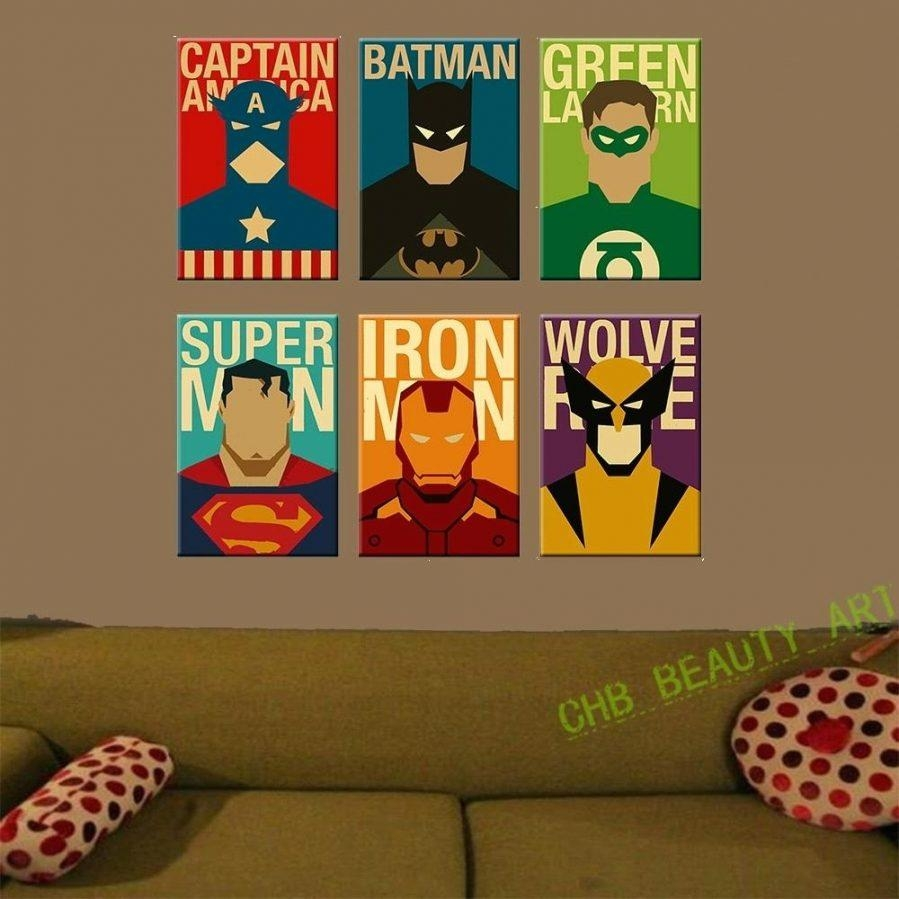 Wall Ideas : Superhero Canvas Wall Art Australia Superhero Wall Within Superhero Wall Art For Kids (Image 19 of 20)