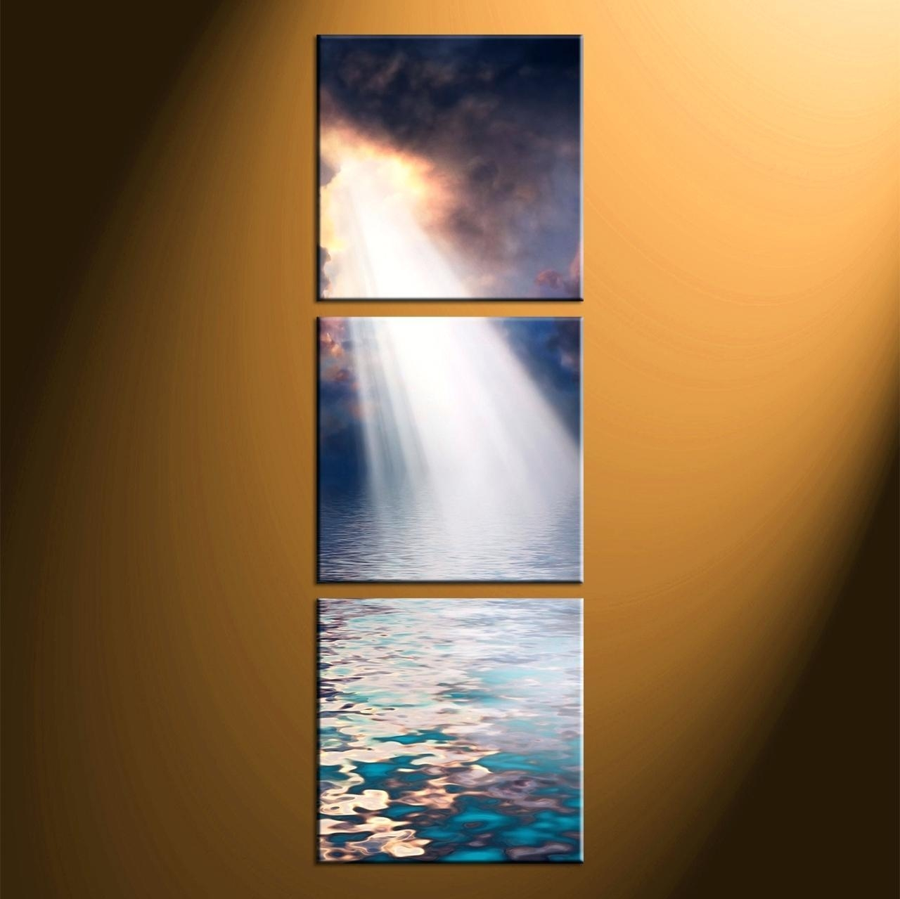 Wall Ideas : Triptych Wall Art Custom Triptych Wall Art Set Inside Large Triptych Wall Art (View 12 of 20)