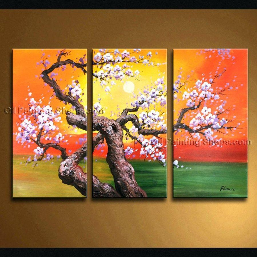 Wall Ideas : Triptych Wall Art Custom Triptych Wall Art Set With Regard To Triptych Art For Sale (Image 18 of 20)