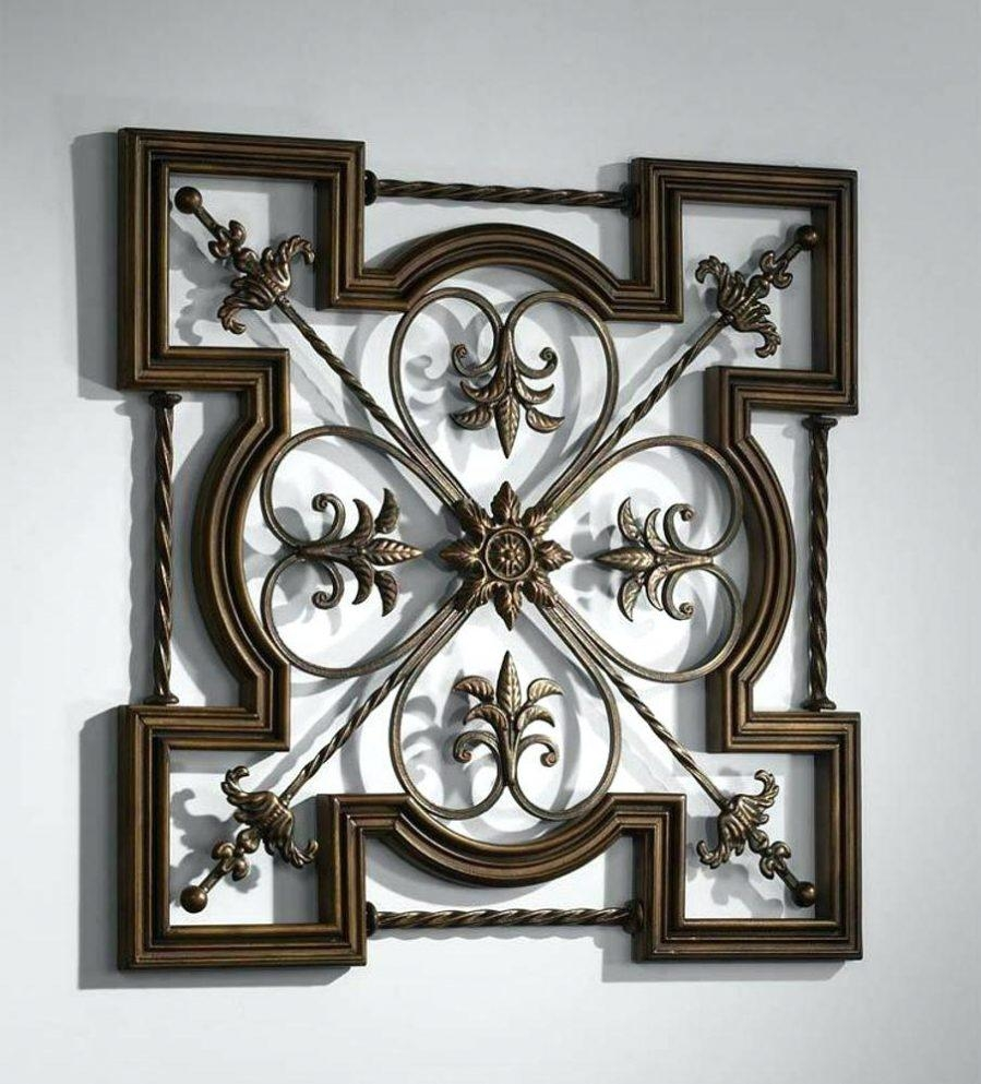 Wall Ideas : Tuscan Metal Wall Art Discover Tuscan Metal Wall Art With Tuscan Wrought Iron Wall Art (View 6 of 20)