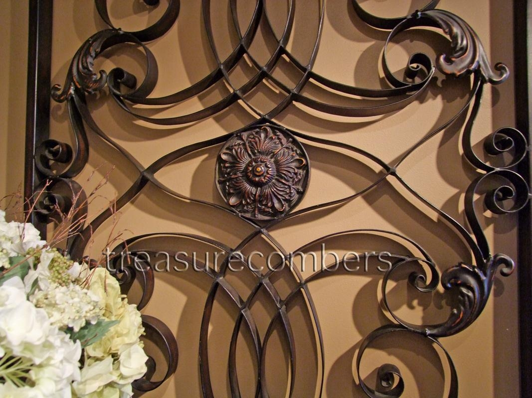 Wall Ideas: Tuscan Metal Wall Art Photo. Design Ideas (Image 20 of 20)