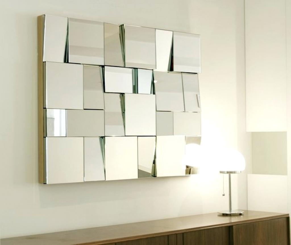 Wall Ideas : Unusual Wall Mirrors Wall Decorative Mirror With Regard To Wall Art Mirrors Contemporary (Image 19 of 20)