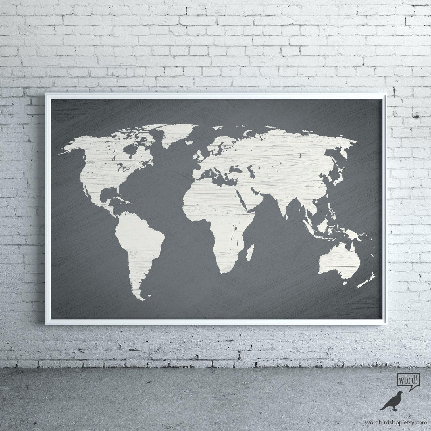 Wall Ideas : Vintage World Map Wall Tapestry Vintage Interior Intended For Old World Map Wall Art (View 13 of 20)