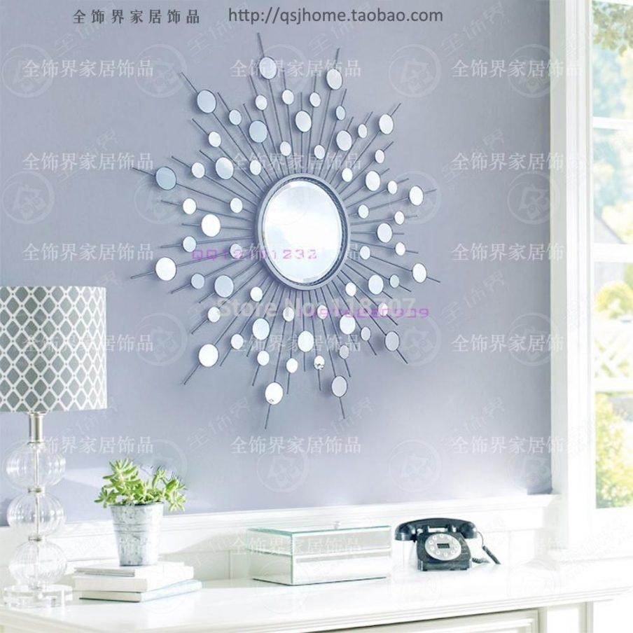 Wall Ideas: Wall Art Mirrors Inspirations. Wall Decor (Image 20 of 20)
