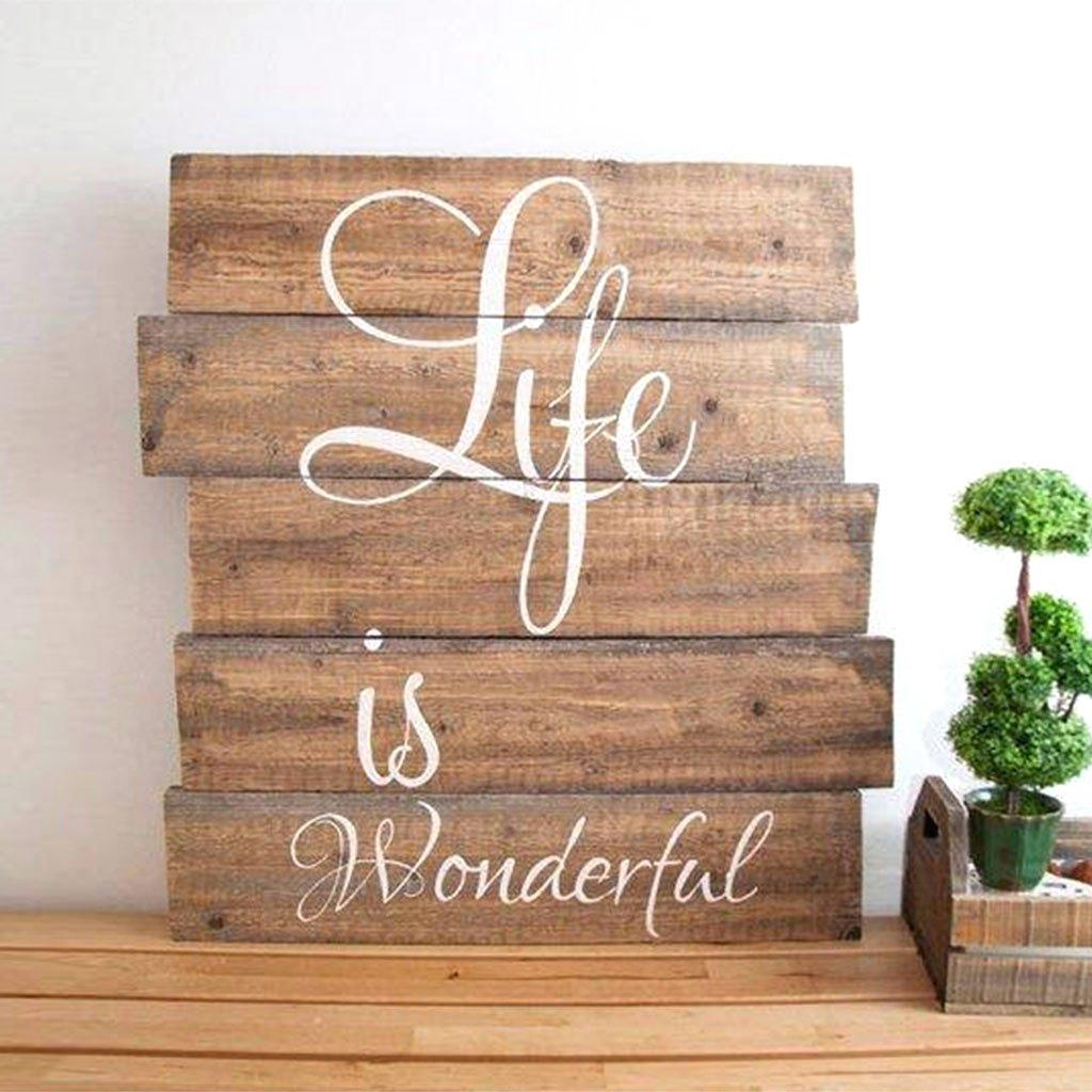 Wall Ideas : Wall Decal Words Word Wall Art Metal Wall Word Art Intended For Wooden Word Wall Art (View 10 of 20)