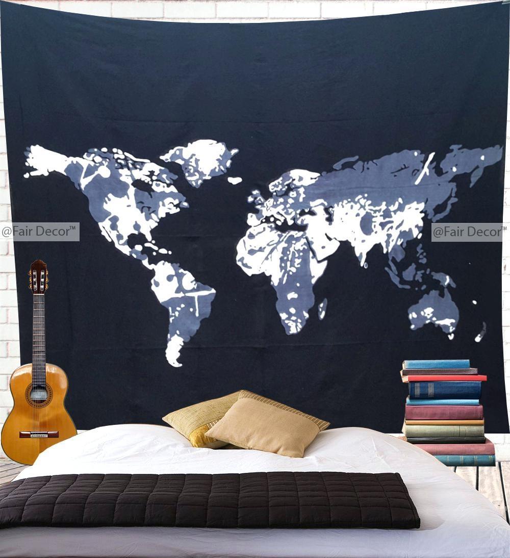 20 best atlas wall art wall art ideas for World map wall art
