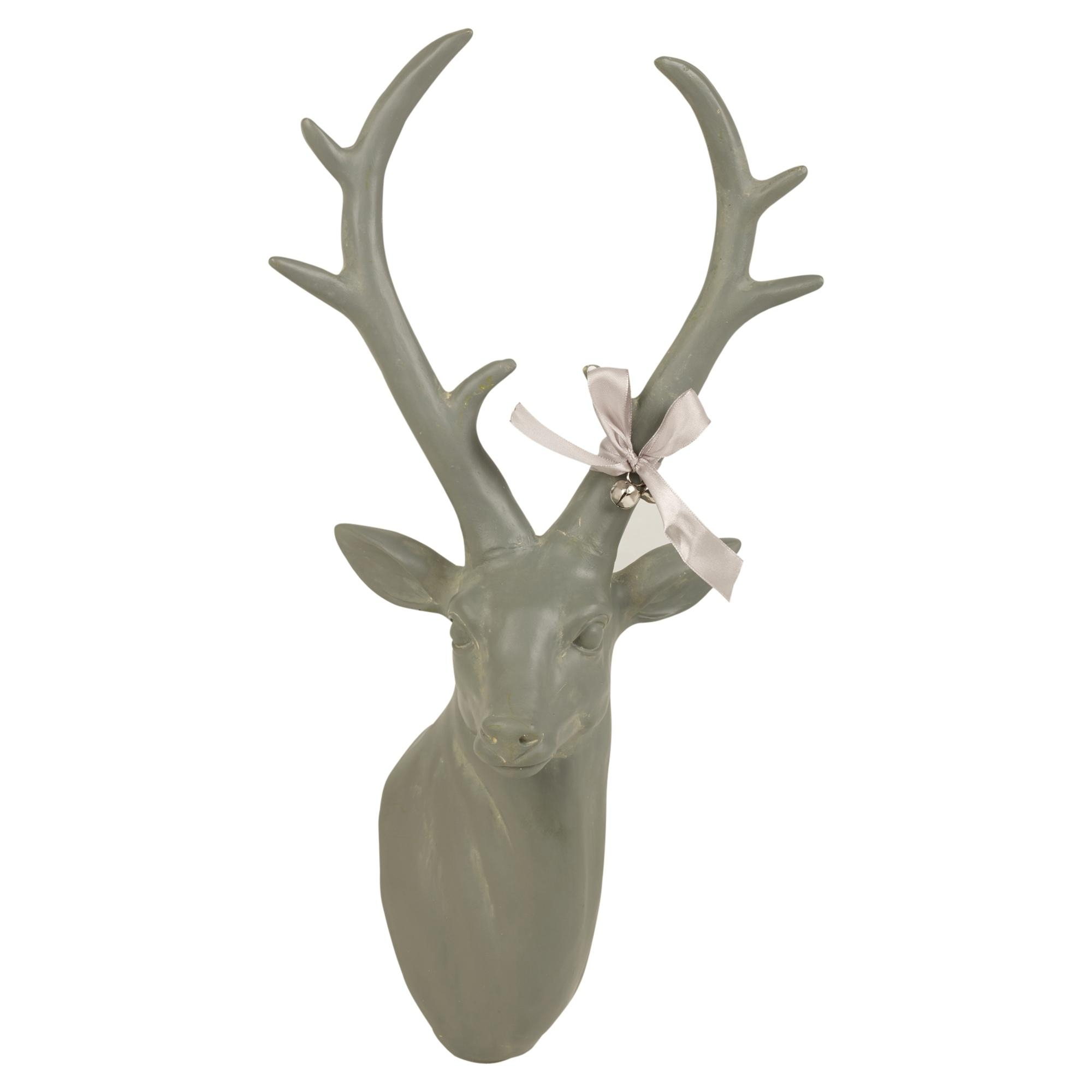Awesome reindeer head wall decoration pictures home decorating reindeer head wall decoration gallery home wall decoration ideas amipublicfo Image collections