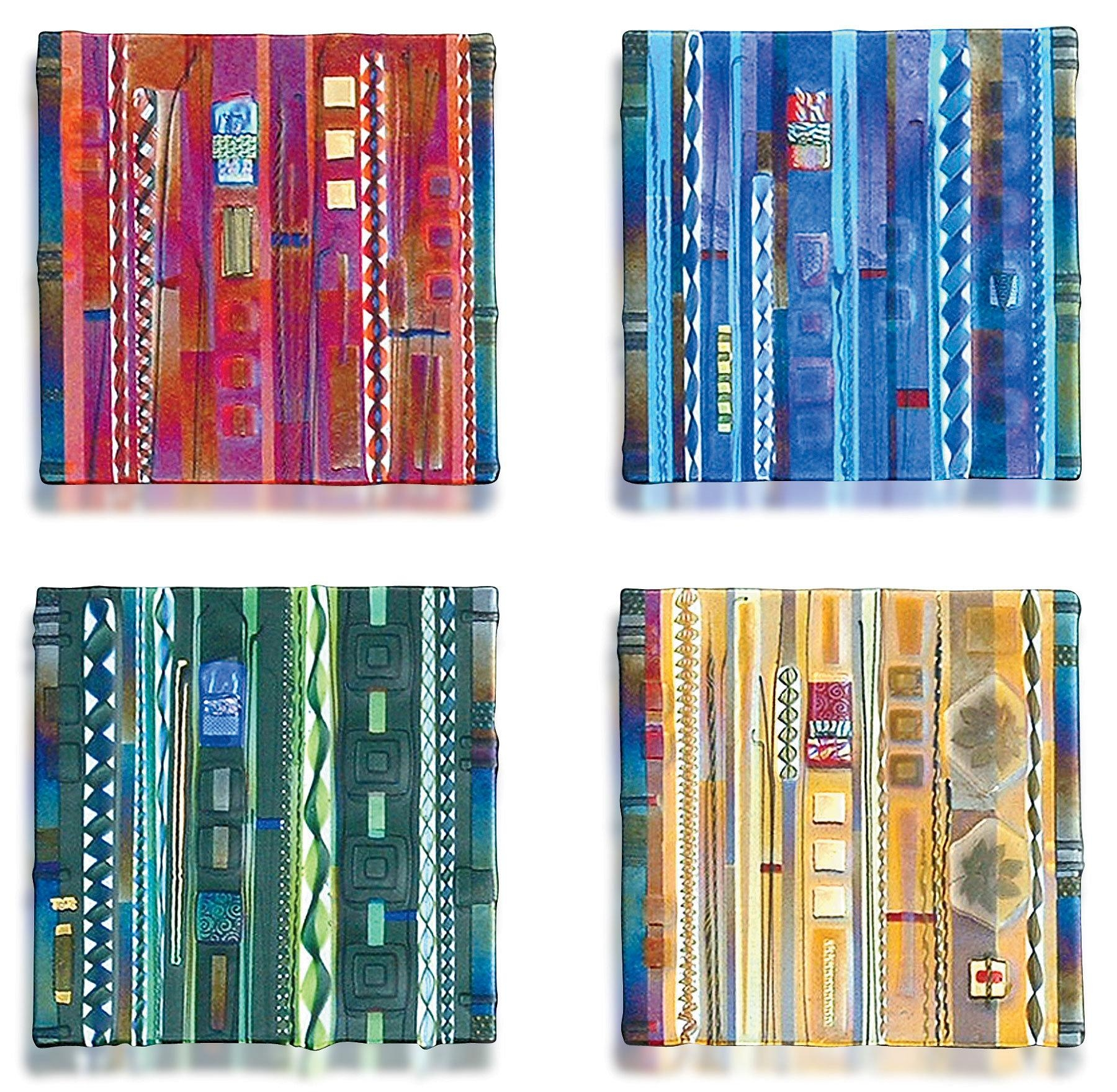 20 top fused glass wall art panels wall art ideas for Wall art panels