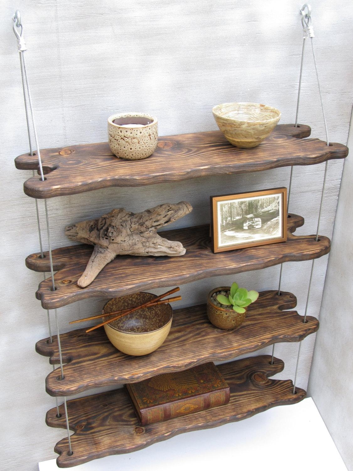 Wall Shelves Design: Reclaimed Driftwood Wall Shelves Diy Intended For Driftwood Wall Art For Sale (Image 20 of 20)