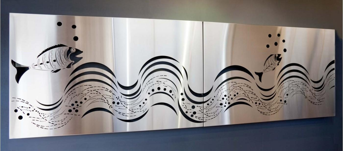 Featured Photo of Stainless Steel Outdoor Wall Art