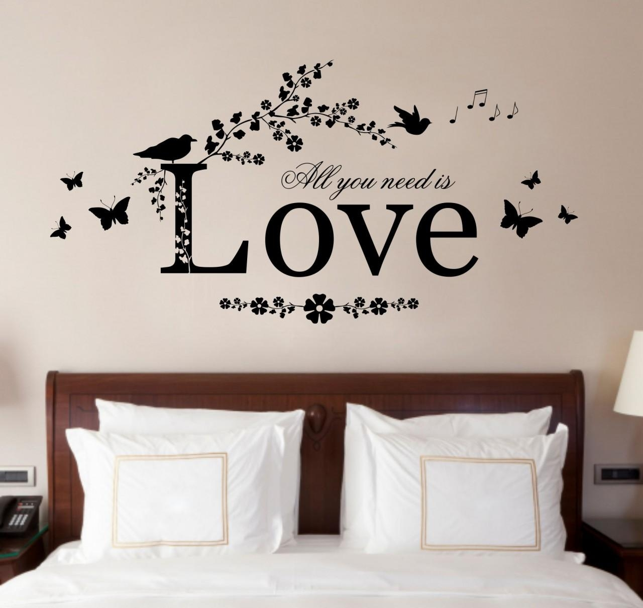 Wall Sticker Art. Family Tree Wall Decal Mural Sticker Art Inside Love Wall  Art (
