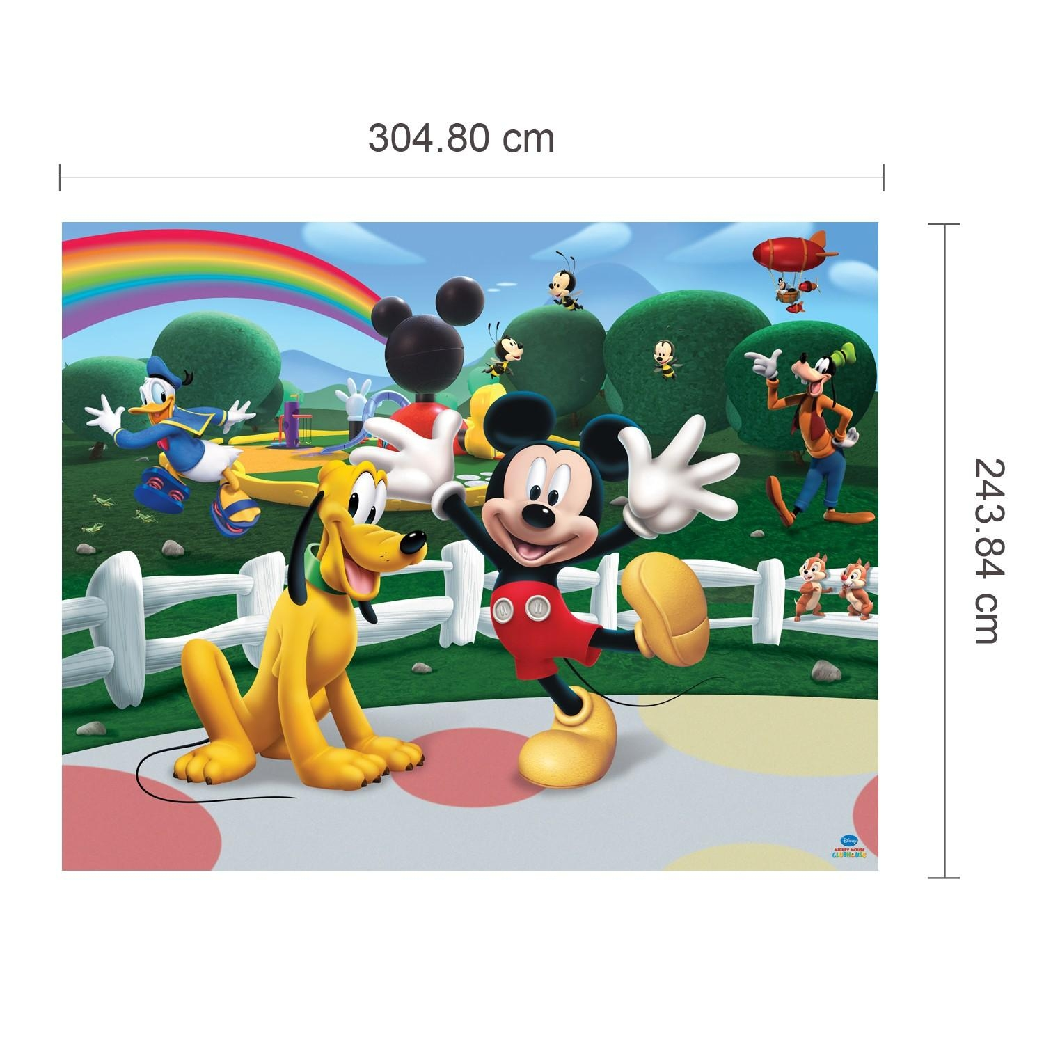 Wall Stickers Uk – Wall Art Stickers – Kitchen Wall Stickers Intended For Mickey Mouse Clubhouse Wall Art (Image 18 of 20)