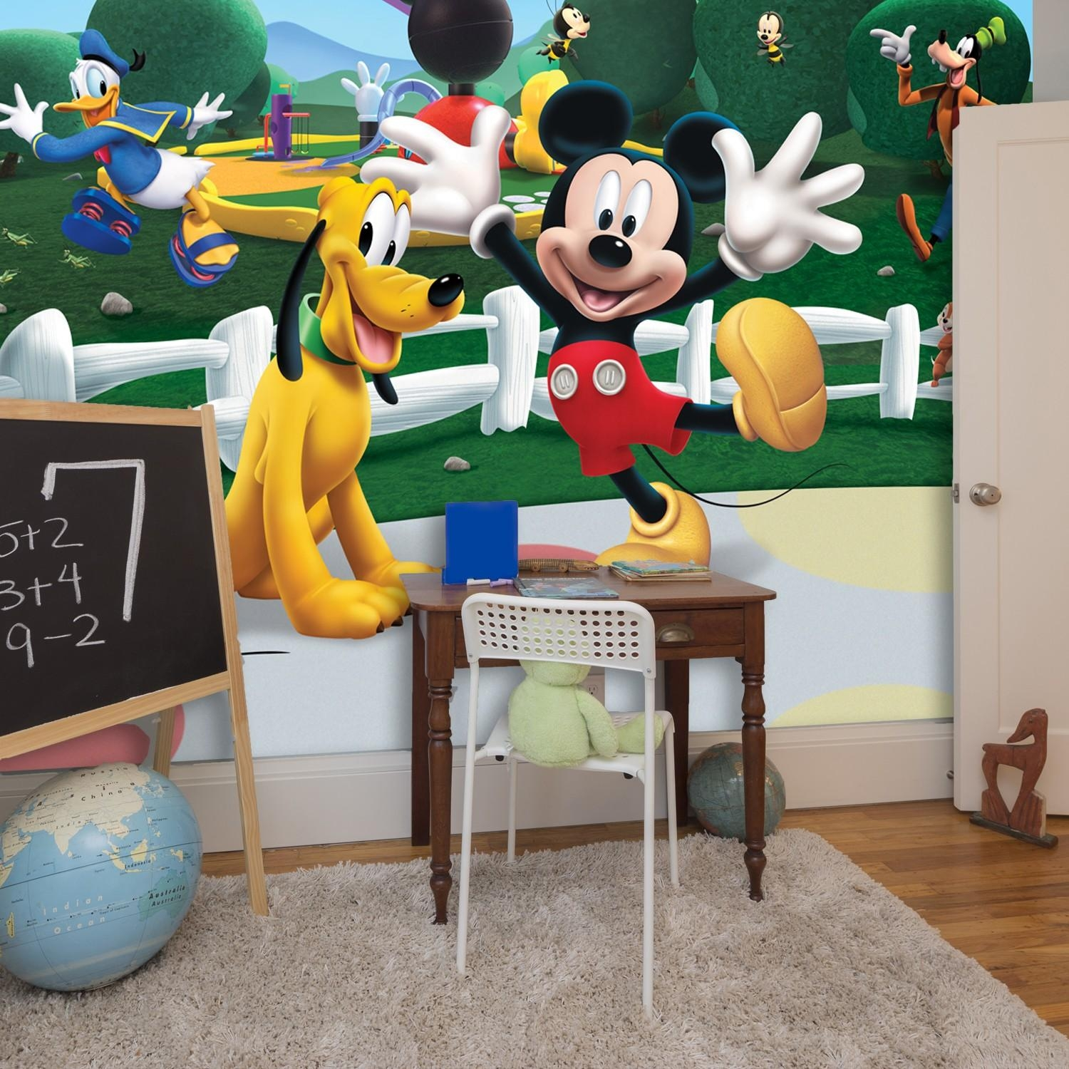Bon Wall Stickers Uk U2013 Wall Art Stickers U2013 Kitchen Wall Stickers With Mickey  Mouse Clubhouse Wall