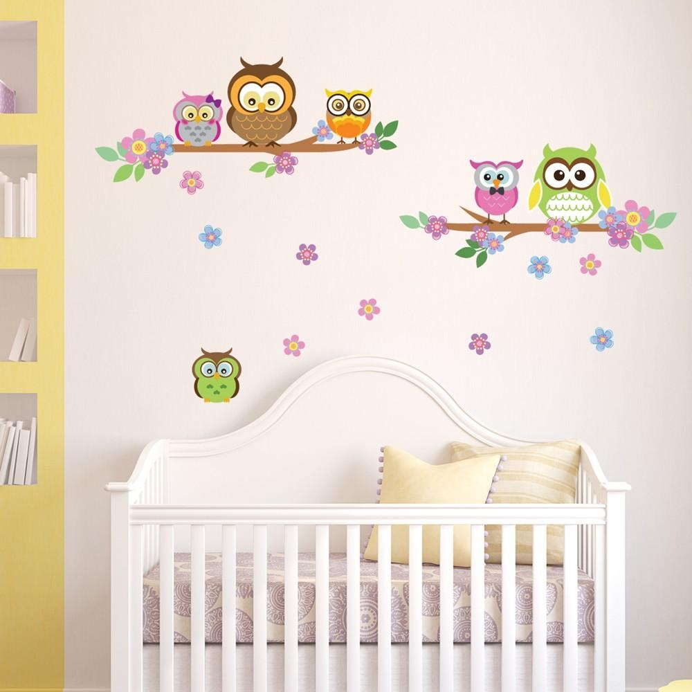 Wall Stickers Uk – Wall Art Stickers – Kitchen Wall Stickers With Owl Wall Art Stickers (View 12 of 20)