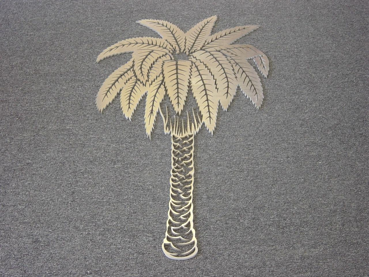 Waterjet Metal Art Ornamental / Aluminum Palm Tree, Waterjet Pertaining To Palm Tree Metal Art (Image 19 of 20)