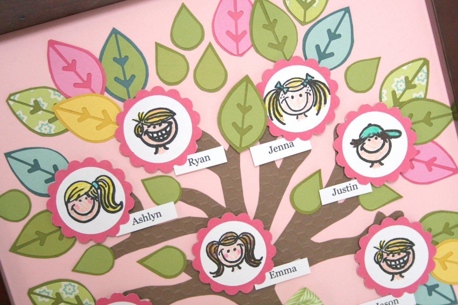 Whatchu Talkin Bout Willis?: Fiskars: Crafting With Kids: Family Throughout Preschool Wall Art (View 13 of 20)