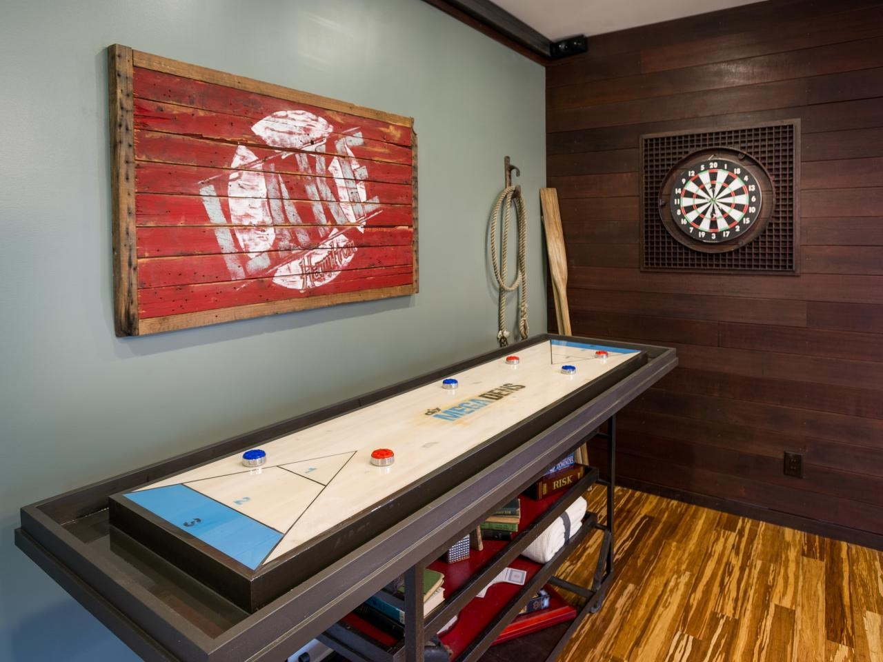 Which Family/media Room Is Your Favorite? | Diy Network Blog Cabin For Media Room Wall Art (Image 20 of 20)